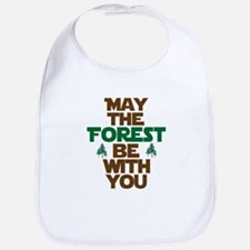 May The Forest Be With You Bib