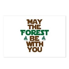 May The Forest Be With You Postcards (Package of 8