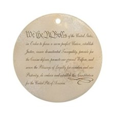 We the Pit Bulls... Ornament (Round)