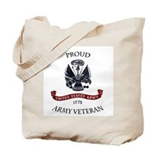 Cute Veteran pride Tote Bag