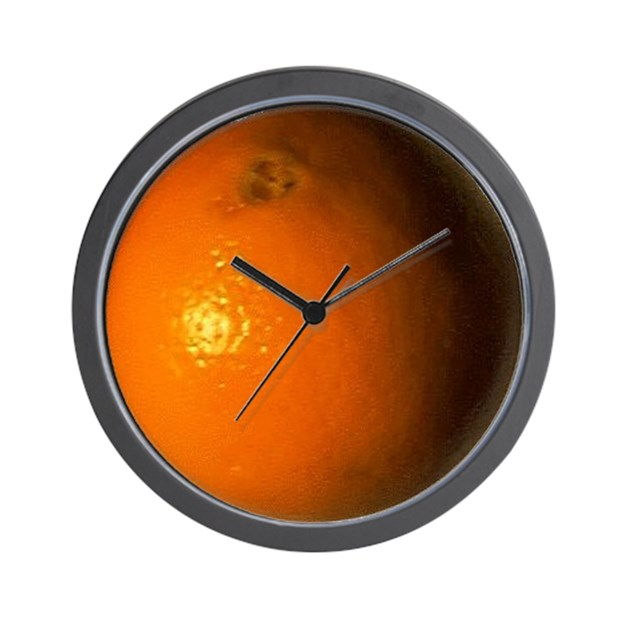 clockwork orange clock