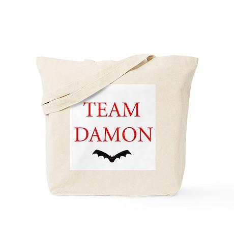 Team Damon Bat Tote Bag