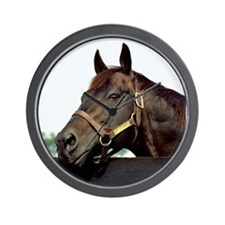 Seattle Slew Wall Clock