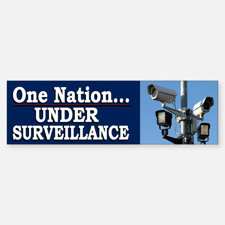 Under Surveillance - Bumper Bumper Bumper Sticker