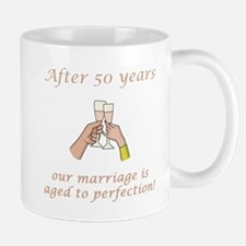 50th Anniversary Wine glasses Mug