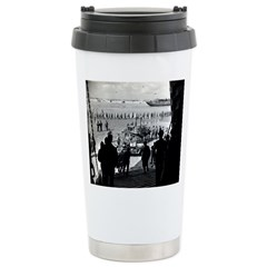 WWII D-Day Stainless Steel Travel Mug
