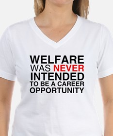 Welfare was never intended to Shirt