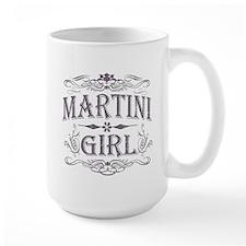 Vintage Martini Girl Mug