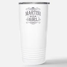 Vintage Martini Girl Travel Mug