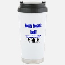 Hockey Season's Back!! Travel Mug