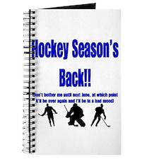 Hockey Season's Back!! Journal