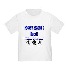 Hockey Season's Back!! T
