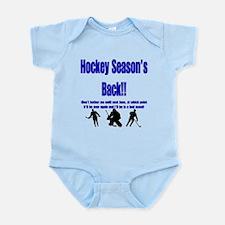 Hockey Season's Back!! Infant Bodysuit