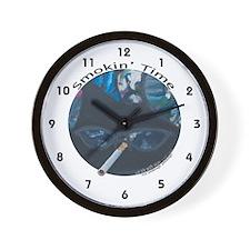 Smoking Wall Clock (w/numbers)