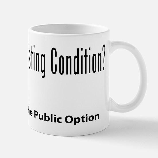 Support the Public Option Mug