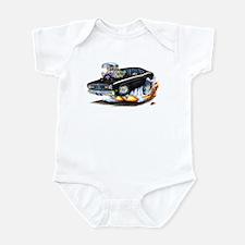 Duster Light Blue Car Infant Bodysuit