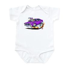 Duster Purple Car Infant Bodysuit