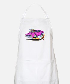Duster Pink Car BBQ Apron
