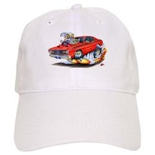 Duster Red Car Baseball Cap