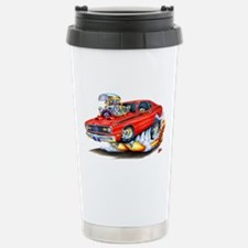 Duster Red Car Travel Mug