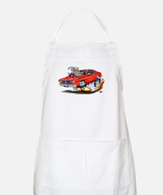 Duster Red Car BBQ Apron