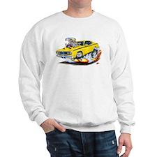 Duster Yellow Car Sweatshirt