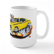 Duster Yellow Car Mug