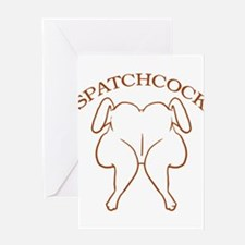 Spatchcock Chicken Greeting Card