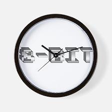 8-Bit Wall Clock