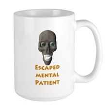 Escaped Mental Patient with s Mug