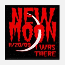 New Moon I was there Tile Coaster