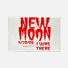 New Moon I was there Rectangle Magnet