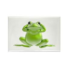 Frog - Hear No Evil! Rectangle Magnet (10 pack)
