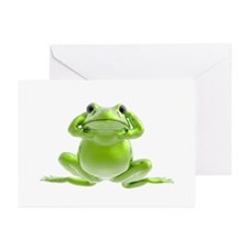 Frog - Hear No Evil! Greeting Cards (Pk of 10)