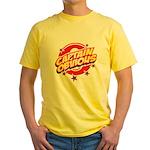 Captain Obvious Yellow T-Shirt