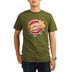 Captain Obvious Organic Men's T-Shirt (dark)