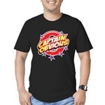 Captain Obvious Men's Fitted T-Shirt (dark)