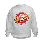 Captain Obvious Kids Sweatshirt
