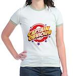 Captain Obvious Jr. Ringer T-Shirt