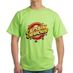 Captain Obvious Green T-Shirt