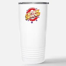 Captain Obvious Stainless Steel Travel Mug