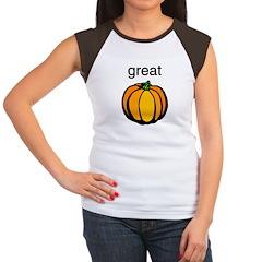 PUMPKIN Women's Cap Sleeve T-Shirt
