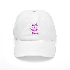Beer Pong Queen Dark Pink Baseball Cap