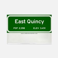 East Quincy Rectangle Magnet