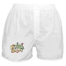 Iowa Map Boxer Shorts