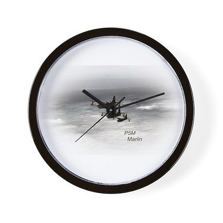 Navy P5M Seaplane Wall Clock