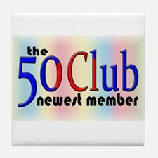 The 50 Club Tile Coaster