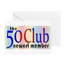The 50 Club Greeting Card