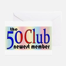 The 50 Club Greeting Cards (Pk of 10)
