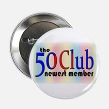 "The 50 Club 2.25"" Button"